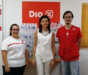 Los Espacios Educativos Saludables de Extremadura contarán con más de 25.000 litros de agua donados por DIA
