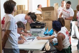 Medio centenar de migrantes se incorporan al Centro de Acogida de Cruz Roja en Mérida procedentes de Motril y Almería