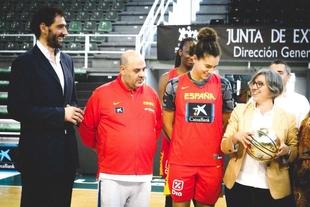 Leire Iglesias destaca la capacidad de Extremadura para albergar grandes eventos deportivos