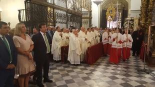 Vara asistió a los actos conmemorativos del Día de Extremadura en Guadalupe