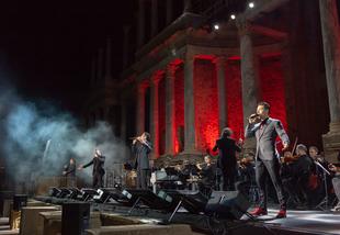 Il Divo entusiasma al Teatro Romano de Mérida con público procedente de 29 países