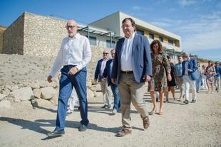 Fernández Vara afirma que el campus PHI es un claro ejemplo de economía verde y circular