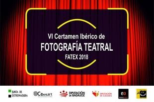 Ya está abierta la convocatoria para participar en el  Certamen Ibérico de fotografía teatral FATEX 2018