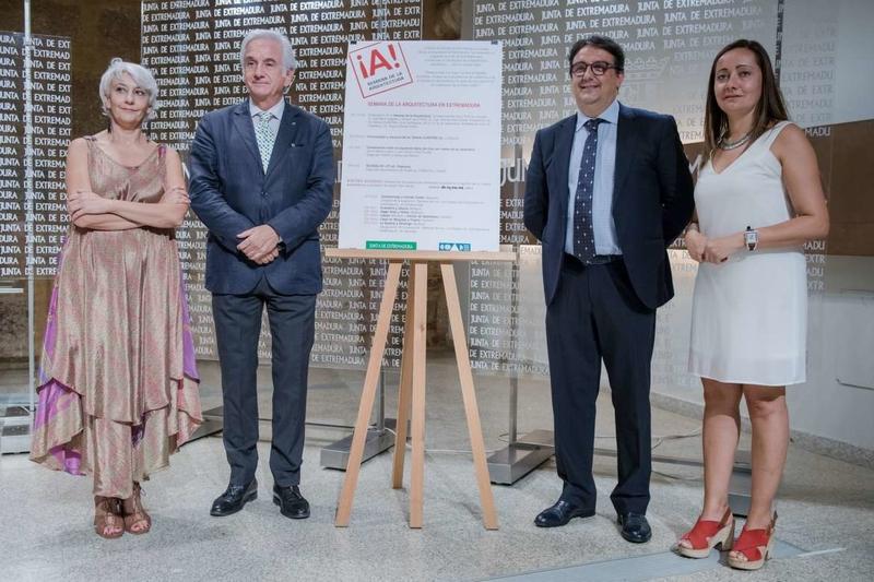 La Junta presenta los actos de la Semana de la Arquitectura en Extremadura