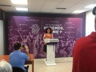 Podemos Extremadura lamenta que Vara ''presuma'' de sus pactos con el PP