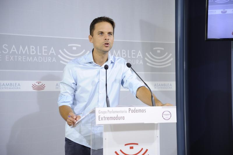 Podemos afirma que los pésimos datos del paro son obra del gobierno de Fernández Vara