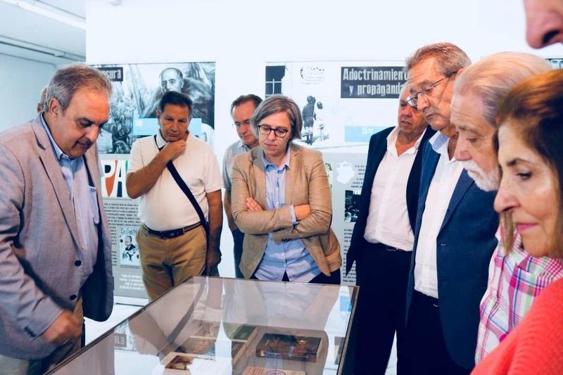 Leire Iglesias destaca el compromiso de la Junta de Extremadura por transformar en derecho la dignidad de las víctimas de la represión franquista