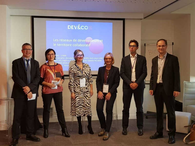 La Junta presenta en Paris la Red MIREE y Conecta Financiación como buenas prácticas para el desarrollo de los territorios