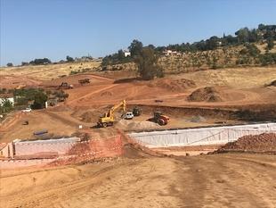Las obras de la Ronda Sureste de Cáceres se ejecutan a buen ritmo