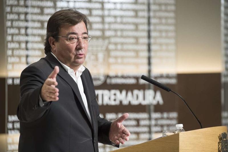 La Junta de Extremadura fija el 6 de noviembre como fecha límite para presentar los presupuestos de 2019 en el parlamento regional