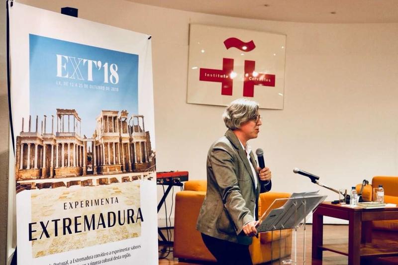La consejera de Cultura e Igualdad subraya la colaboración y el compromiso de Extremadura con Portugal
