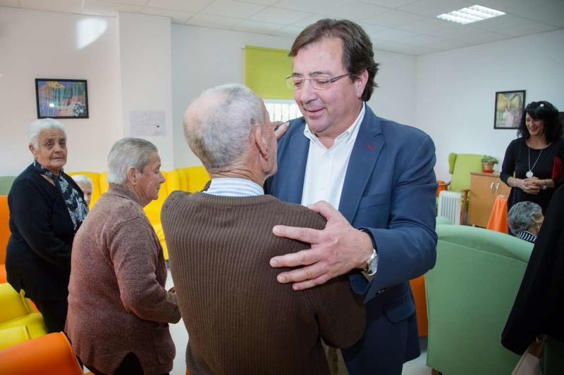 Vara destaca que las residencias para mayores en los núcleos rurales fijan población al territorio