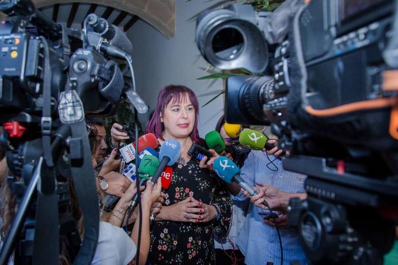 Begoña García anuncia una manifestación en Cáceres el 18 de noviembre para exigir un tren digno