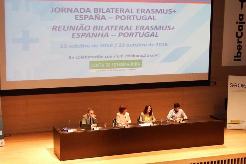 Esther Gutiérrez destaca la tasa de éxito de proyectos educativos europeos en Extremadura, casi dos puntos por encima de la media nacional