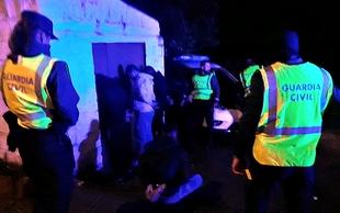La Guardia Civil desarticula un grupo criminal por la comisión de una veintena de robos en bares, naves y viviendas de Badajoz, Cáceres y Toledo