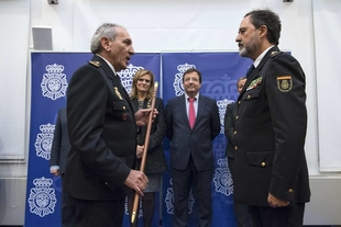 Toma posesión el nuevo jefe superior de policía de Extremadura