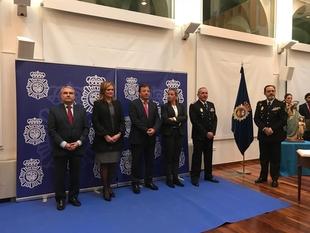 García Seco alude a implicación con Extremadura y al carácter del nuevo Jefe Superior de Policía para conseguir una región más segura y más humana