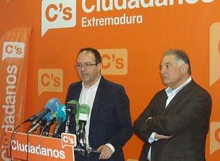 Ciudadanos Extremadura no hará estrategia electoral con los presupuestos