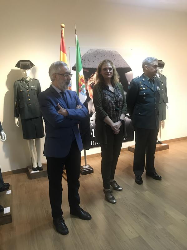 García Seco hace un especial reconocimiento a todas las mujeres que forman parte de la Guardia Civil