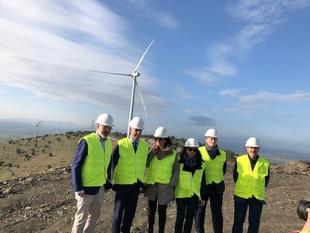 Olga García afirma que es un momento ilusionante y de optimismo en cuanto a las renovables