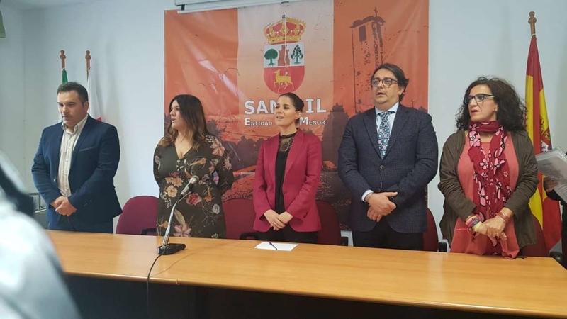Gil Rosiña destaca las medidas puestas en marcha por la Junta de Extremadura para fijar la población al territorio