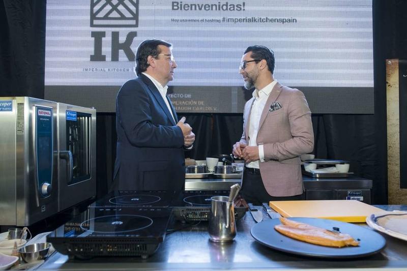 Fernández Vara inaugura en Jarandilla de la Vera el congreso Imperial Kitchen Spain