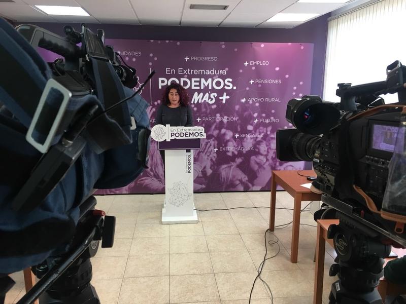 Podemos Extremadura exige más medios para luchar contra la violencia machista
