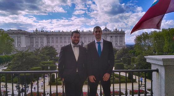 Dos jóvenes extremeños reciben en Madrid el Premio Europeo a la Calidad Empresarial