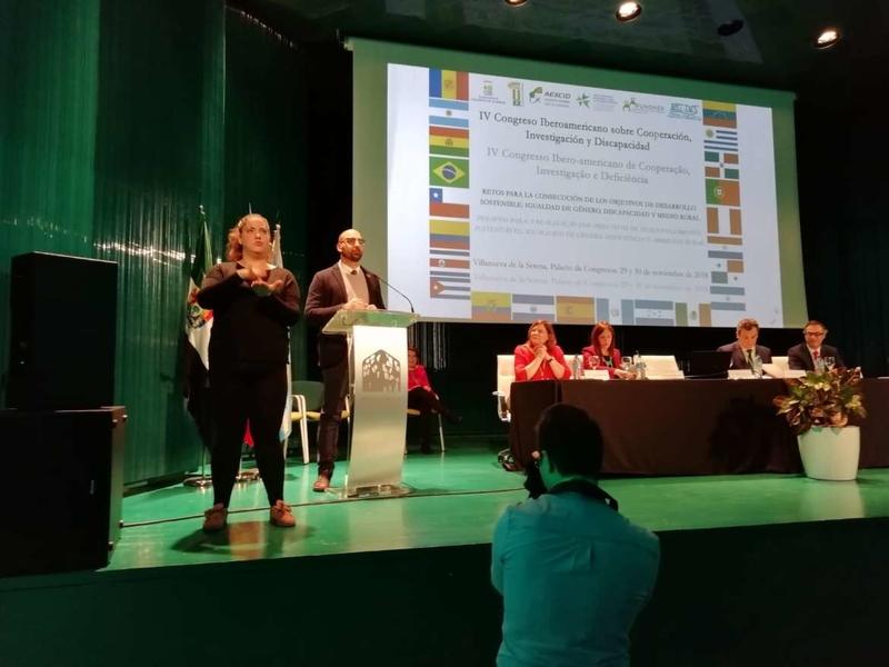 El director de la AEXCID defiende la transversalidad de la cooperación en el IV Congreso Iberoamericano sobre Cooperación, Investigación y Discapacida