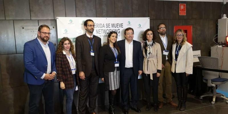 Fernández Vara aboga por una administración más ágil para favorecer el emprendimiento
