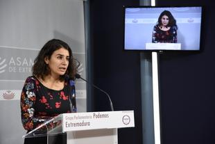 Irene de Miguel: ''El PSOE está jugando con el pan de la gente creando falsas esperanzas con proyectos multimillonarios difíciles de creer''