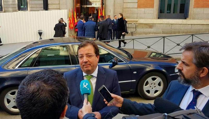 Fernández Vara pone en valor el importante legado de los 40 años de nuestra Constitución