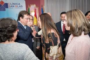 Fernández Vara valora la importancia clave del sistema sanitario en el aumento progresivo de la esperanza de vida