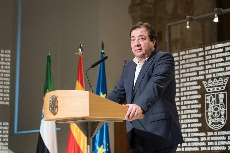 El presidente de la Junta afirma que la situación de Extremadura ha mejorado significativamente pero aún queda camino por andar