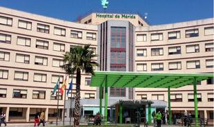 Liam es el primer bebé de 2019 en Extremadura, nació en el hospital de Mérida a las 0:20 horas