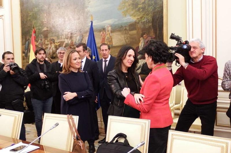Esther Gutiérrez destaca los avances de la reforma de la ley educativa que promueve el Ministerio de Educación
