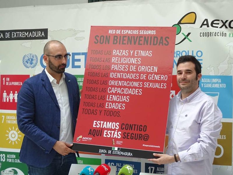 Extremadura apuesta por una Red de Espacios Seguros donde todas las personas sean bienvenidas