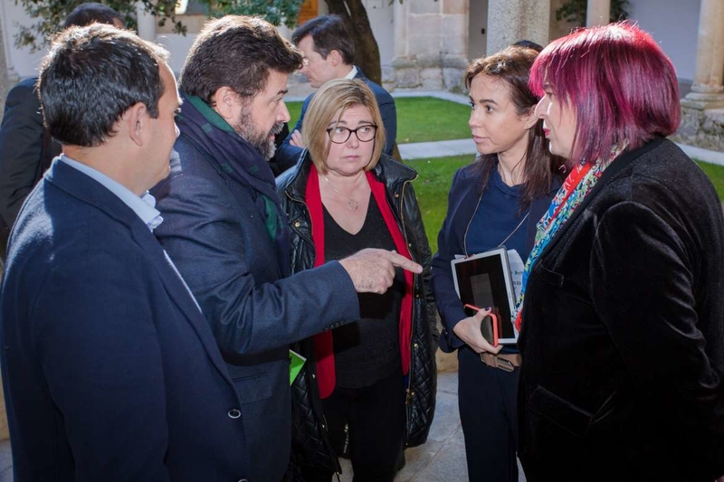 El Pacto Social y Político por el Ferrocarril exige a Adif que se aceleren las obras de las líneas Mérida-Puertollano y Zafra-Sevilla