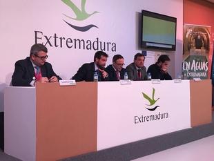 El clúster del Turismo de Extremadura presenta en FITUR ''Vive la Frontera''