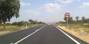 Extremadura adapta el límite de velocidad a 90 kilómetros por hora en carreteras secundarias