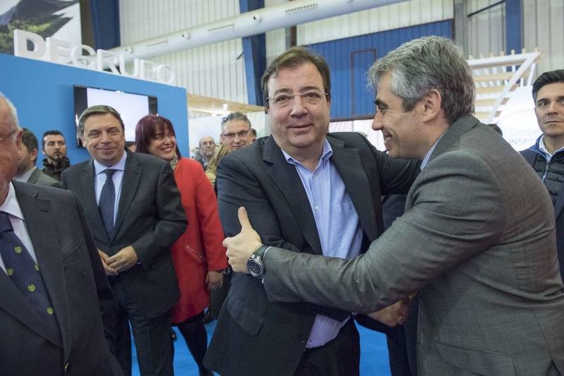 El presidente destaca en Agroexpo la importancia de las tecnologías y la innovación en la competitividad del sector agroganadero