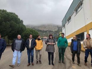 Begoña García visita la Cooperativa de Hornachos, ejemplo de producción ecológica