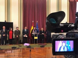 Junta y Ministerio de Agricultura formalizan la adhesión de Extremadura a un instrumento financiero que agilizará los trámites agrarios