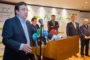 Fernández Vara valora el profundo compromiso con la realidad de los ciudadanos de la ONCE