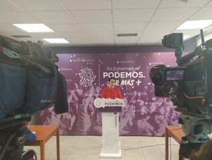 Irene de Miguel: ''Defender la patria es defender el aumento del SMI a 900 euros''