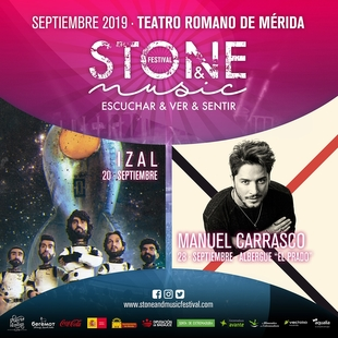 Izal y Manuel Carrasco se suman al cartel del Stone & Music 2019