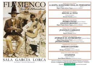 El flamenco extremeño llega a la mítica Casa Patas durante los meses de marzo y abril
