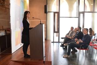 La secretaria general de Cultura elogia la mezcla de patrimonio y música del Alcazaba Festival