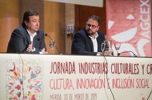 Fernández Vara defiende la cultura inclusiva y una creatividad y libertad de expresión sin límites
