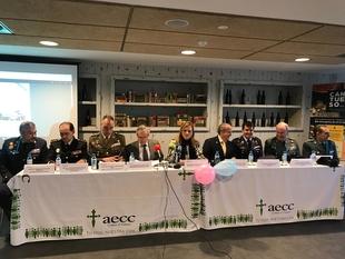 Fuerzas y Cuerpos de Seguridad del Estado y Ejército, objeto de las jornadas sobre prevención del cáncer de próstata de la AECC